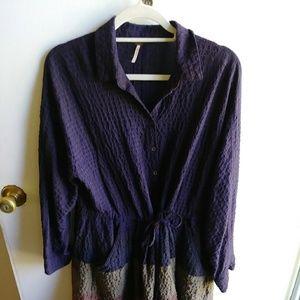 Free People Textured Dress